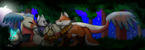 Lovely night [Contest Entry] by Trudy-The-Wolf