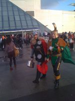 Thor And Loki Cosplayers by Collioni69