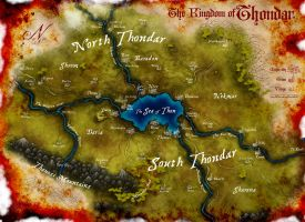 Map of Thondor by Stormcrow135
