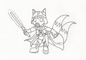 Tails Vader by AidenVP