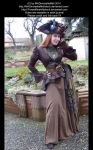 Steam Pirate Lady Stock 001 by MADmoiselleMeliStock