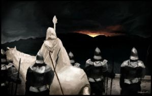 Gandalf and his Men. by pizdUrRart
