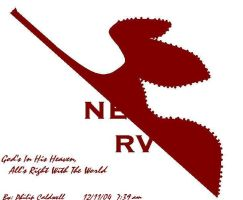 Nerv Crest and Motto by Nexusenigma
