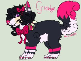 Grudge Ref (Main Fursona) by TherealNightstripes