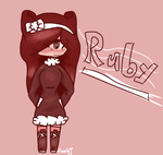 Ruby! (Pastry Human Digital Request) by fizzlej0066