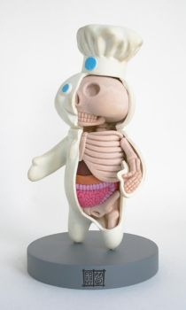 Poppin Fresh Anatomical Sculpt by freeny