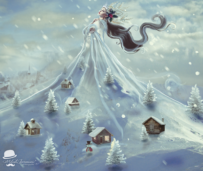 Snow Queen by MiloshJevremovic