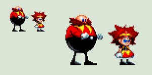Sonic Mania - Eggette by rcrdcat