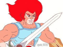 Lion-O With the Sword by Leppardra