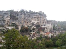 Rocamadour - Full view 2 by HermitCrabStock