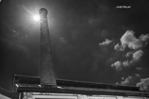 Tower And Sun by IgorKal