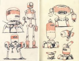 Sketchbook Page 04 by JakeParker