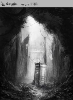mystery phone booth by oione
