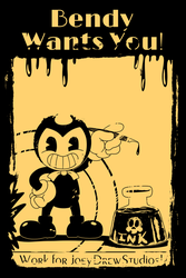 Bendy Wants you!(Chapter 5 Contest entry) by MadArtsXIII