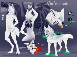 Vin Valiant reference sheet 2017 by MaraMastrullo