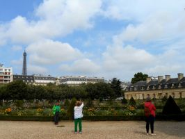 Eiffel from afar by jessamaciejewski