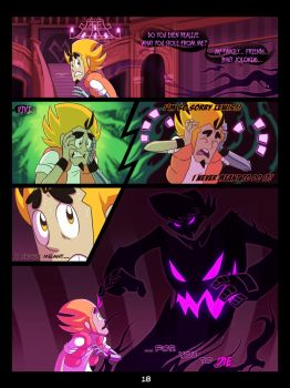 The Mystery Skulls Misadventures: 'Wounds' pg18 by Anastas-C