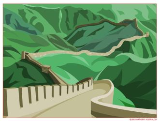 Great Wall by thisisanton