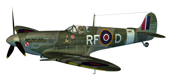 Spitfire PNG Stock by Roy3D