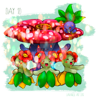 Week 2 Pokemon Day 10 Petal Dance