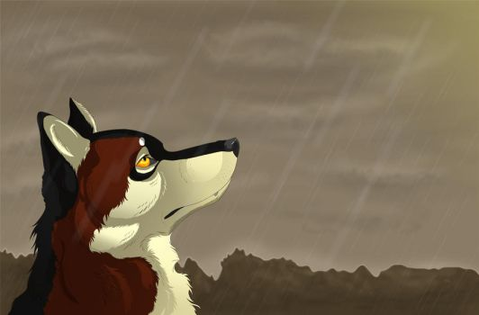 Here Comes the Rain Again by Wolfie-101