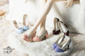 New 1/3 bjd shoes ~ by Angell-studio