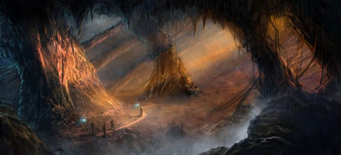 Major project Cave illustration by mauri2012