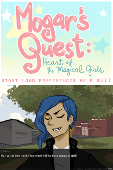 Mogar's Quest: I MADE A VIDEO GAME! :B by peahat