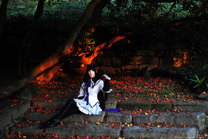 Homura Akemi - The only one who remembers by sophie-art