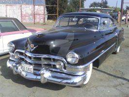 1950 Black Cadillac by Jetster1