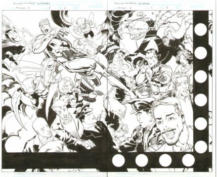 Mutant X #2, Pages 2 and 3 by Brower