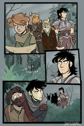 SP Skyrim AU: First Impressions by jovishark