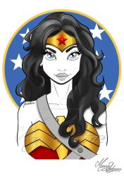 Wonder Woman Maria Latorre by marialatorreart