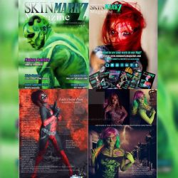 Published in Skin MarkZ Magazine March 2016 Vol 18 by VisualEyeCandy
