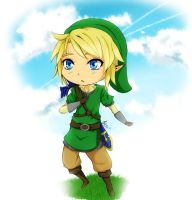 Skyward Sword: Link by narutogirlfan