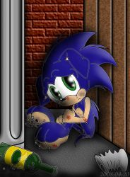 Evil Sonic: Unwanted by Rapha-chan