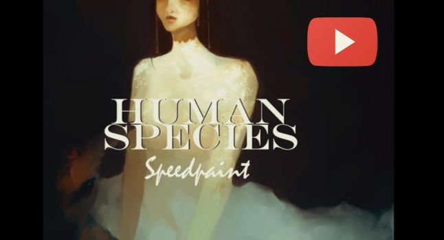 Speedapaint video - Human species by humanealien