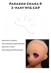 Wig Cap for Parabox Chara by BloodyKylie