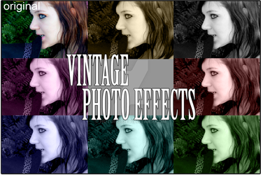Vintage Photo Effects by hdyung