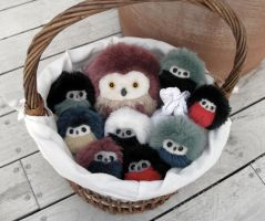 Another basket of owls by demiveemon