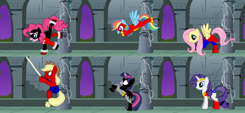 Super MLPonies by 66scarylion44