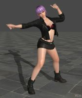 [Download Now] Ayane in Punk jacket by ShinyLightBulb