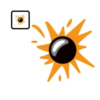 Vectorized Isaac #39: Explosivo by giftedscholar