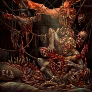 Flesh Consumed Album by PTimm