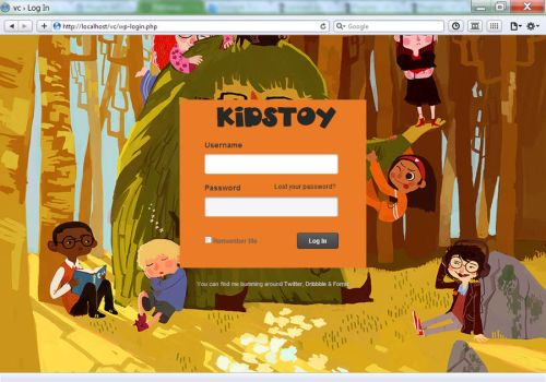 Pathway WP - Kids Toy Login by vennerconcept