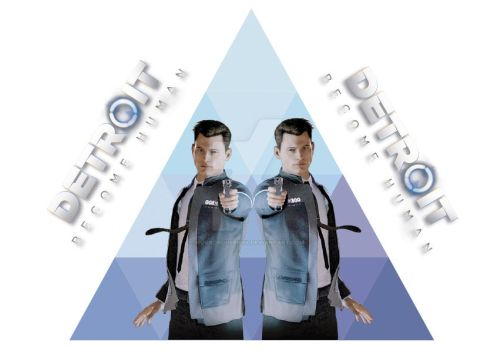 Detroit Become Human, Connor 2 by HorrorQueenXX