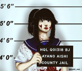 Yandere-Chan at prison  by kyokimei