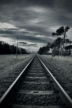 Railway by space-saver