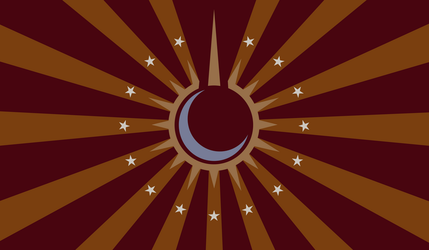 Flag of the Equestrian Empire Vector by hombre0