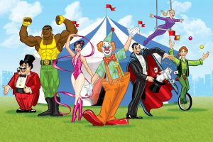 comission - The Circus by FelipeBriani